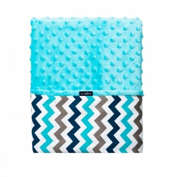 Zaffiro - Minky Blanket 75 x 100 cm
