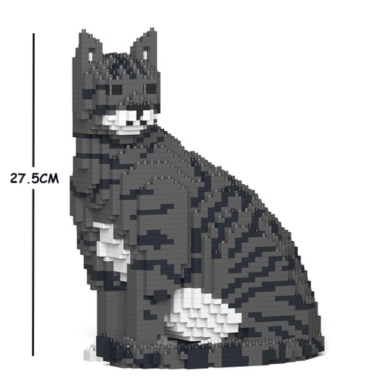 Jekca - Cat black & with & gray