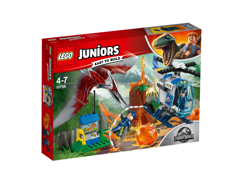 LEGO® Juniors 10756 - Flucht vor dem Pteranodon