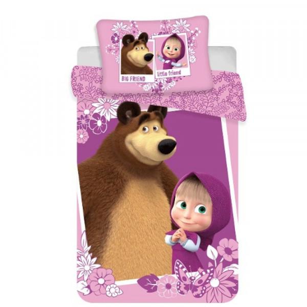 Babybettwäsche - Mascha und der Bär