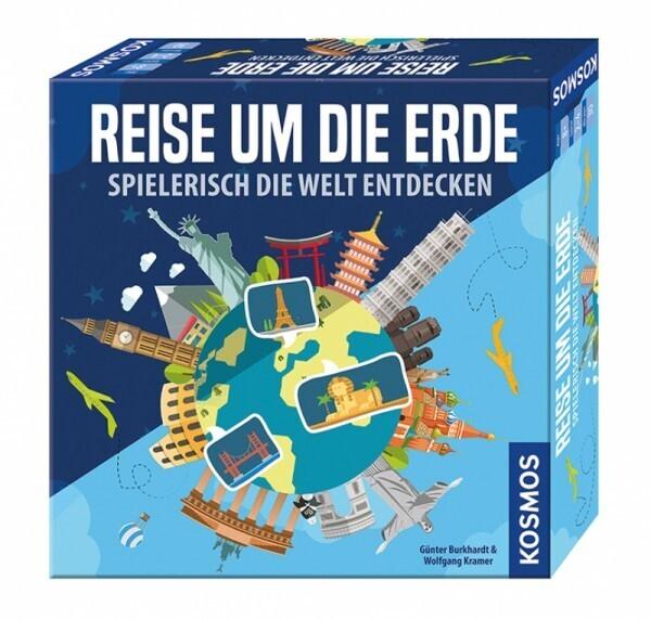 KOSMOS 692773 - Spiel Reise um die Erde