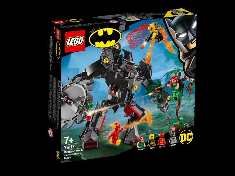 LEGO® DC Universe Super Heroes 76117 - Batman™ Mech vs. Poison Ivy™ Mech