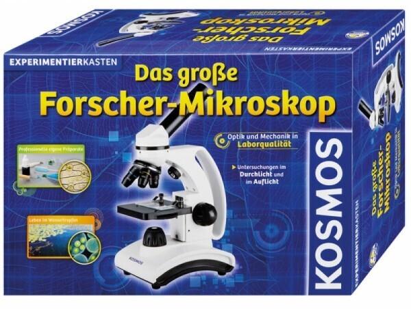 KOSMOS 636029 - Experimentierkasten das große Forscher-Mikroskop