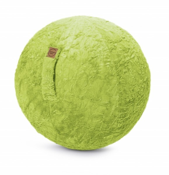 Sitzball Fluffy - grün