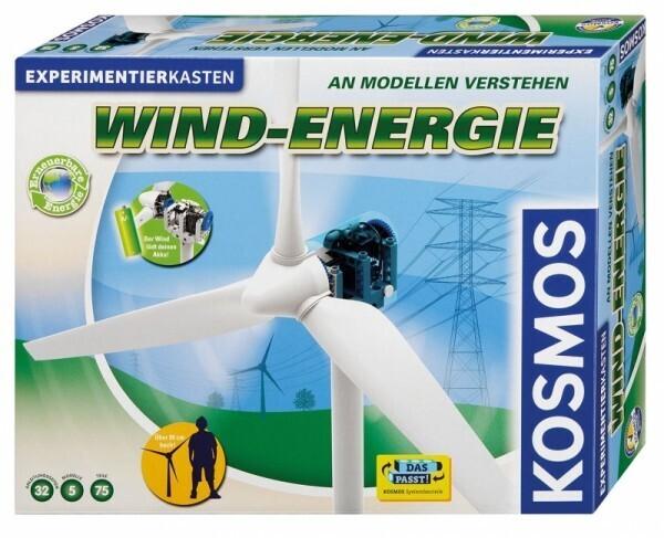 KOSMOS 627928 - Experimentierkast Wind-Energie An Modellen verstehen