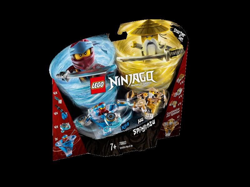 LEGO® NINJAGO 70663 - Spinjitzu Nya & Wu