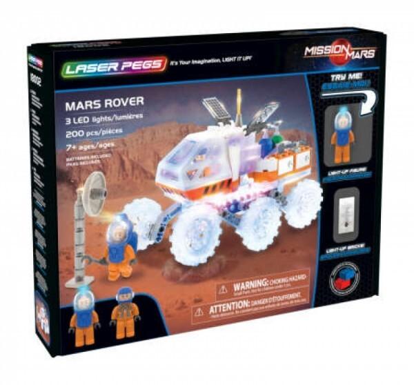 LASER PEGS 18002 - Mars Rover