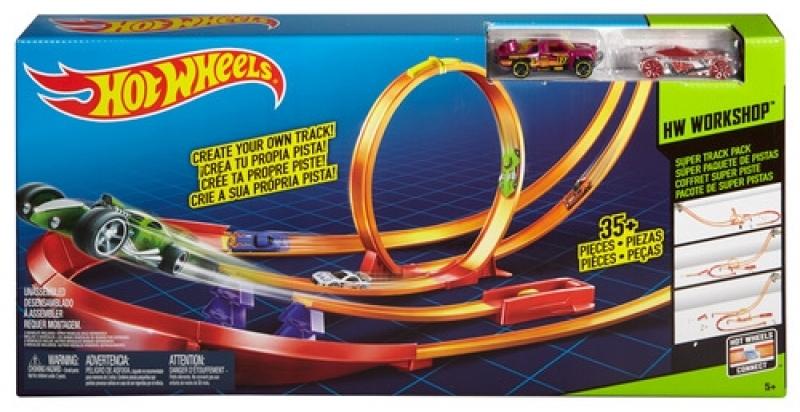 Hot Wheels Track Builder Pistenset