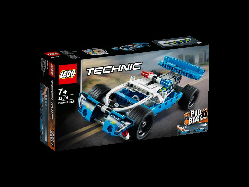 LEGO® TECHNIC 42091 - Polizei-Verfolgungsjagd