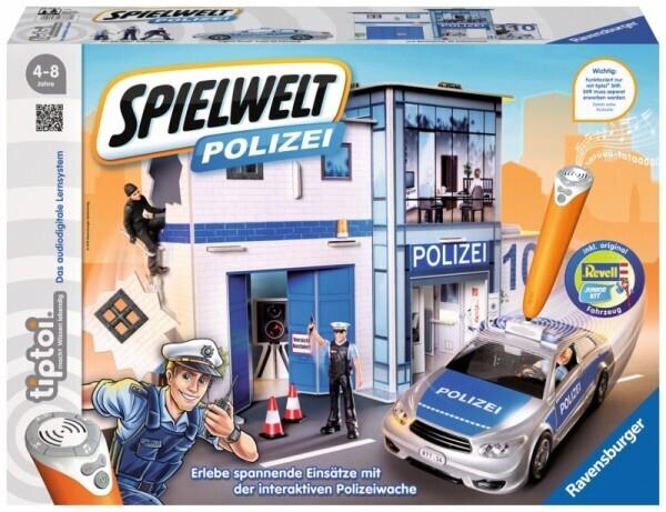Ravensburger tiptoi® - Spielwelt Polizei