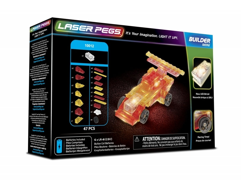 LASER PEGS 10012 - Mini Race Car