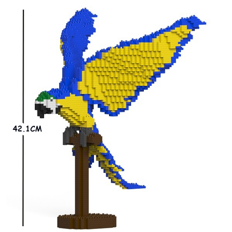 Jekca - Papagei Blue and Gold Macaw