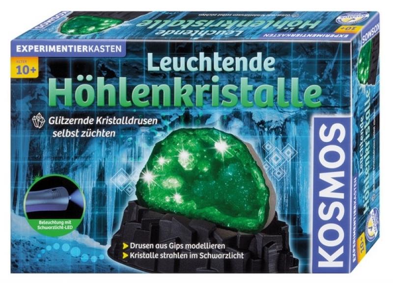 KOSMOS 644901 - Experimentierkasten Leuchtende Höhlenkristalle
