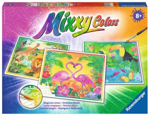Ravensburger Mixxy Colors - Tiere am Wasserloch