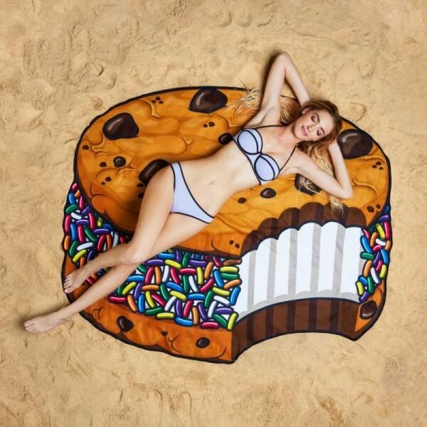 Badetuch Ice Cream Cookie