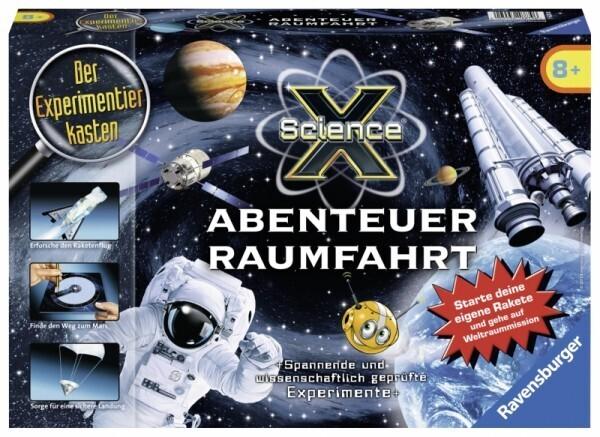 Ravensburger - ScienceX Abenteuer Raumfahrt