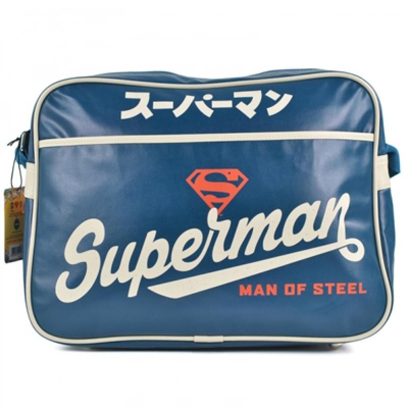 Schultertasche Superman Blue Japanese