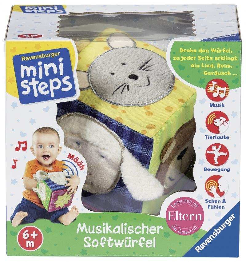 Ravensburger ministeps - Musikalischer Softwürfel