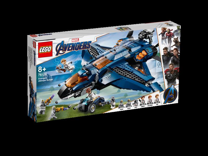 LEGO Marvel Super Heroes 76126 - Ultimativer Avengers-Quinjet