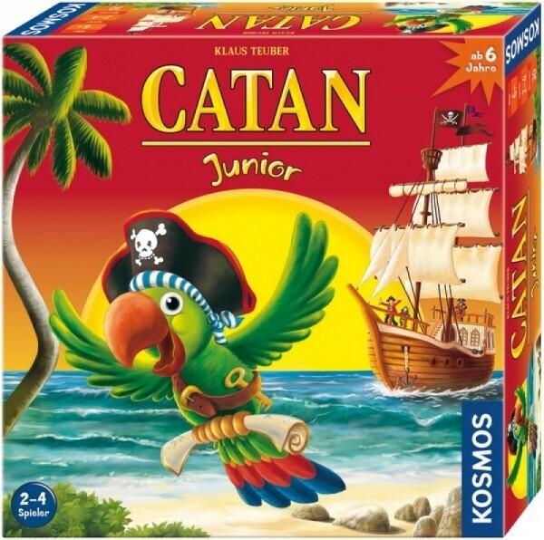KOSMOS 697495 - Spiel CATAN Junior