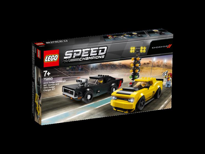 LEGO® Speed Champions 75893 - 2018 Dodge Challenger SRT Demon und 1970 Dodge Charger R/T