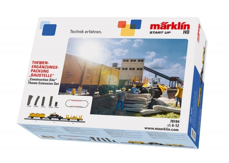 "Märklin Start up 78184 - Themen-Ergänzungspackung ""Baustelle"""