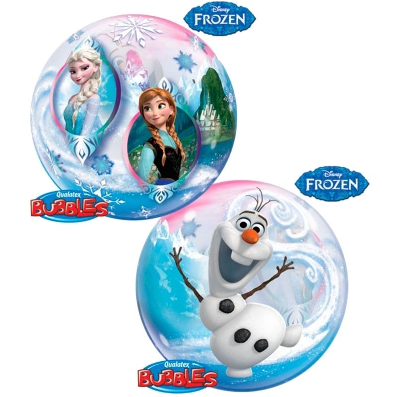 Disney Frozen / Die Eiskönigin Bubble Ballon gefüllt mit Helium