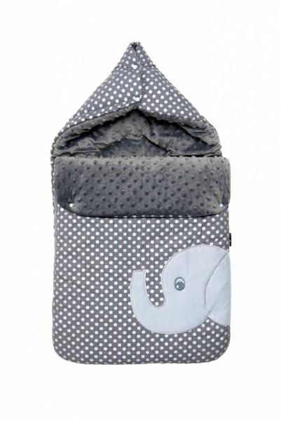 Zaffiro - Schlafsack Baby Minky Wrap