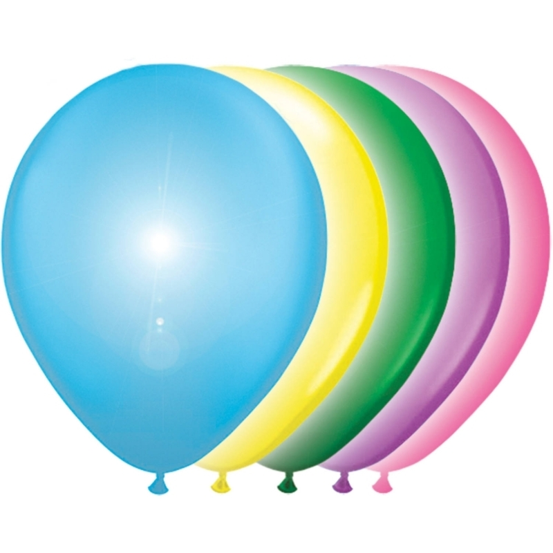 LED Ballons verschiedene Farben
