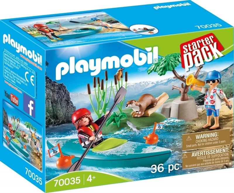 PLAYMOBIL® 70035 StarterPack Kanu-Training