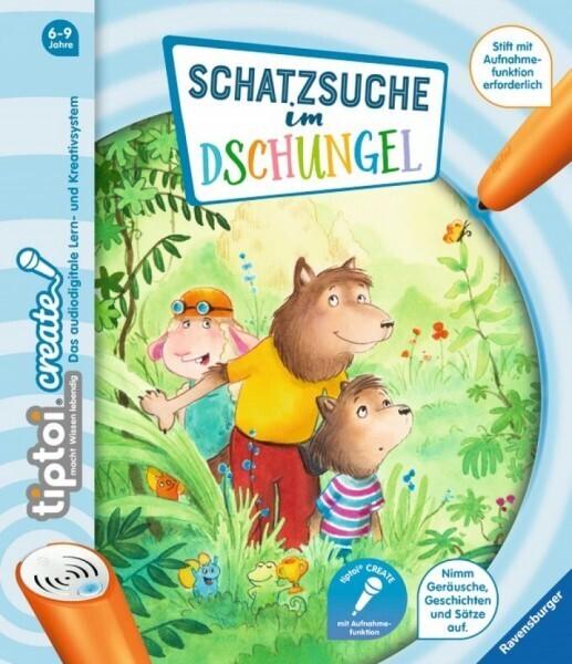 Ravensburger tiptoi® - CREATE Schatzsuche im Dschungel