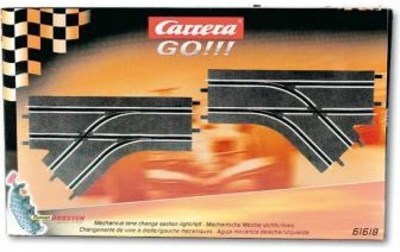 Carrera GO! - Mechanische Weiche rechts/links