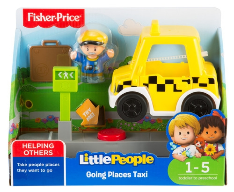Fisher-Price Little People kleines Taxi