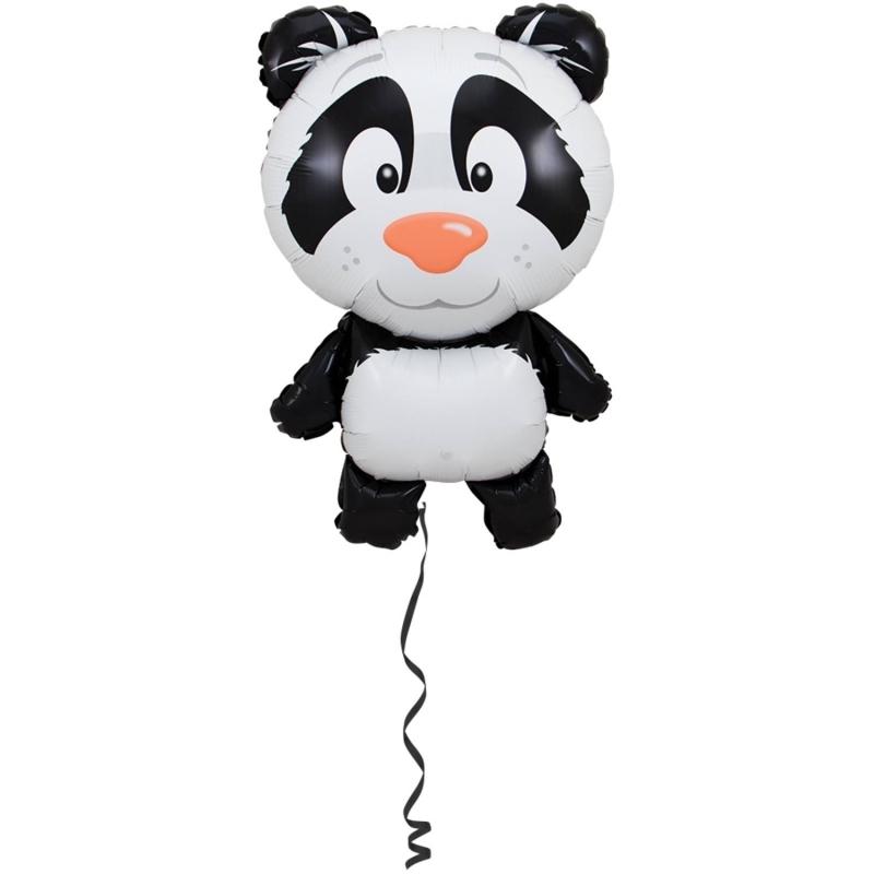 Folienballon Panda mit Helium