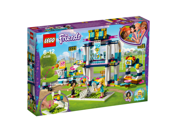 LEGO® FRIENDS 41338 - Stephanies Sportstadion