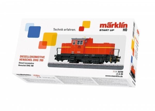 Märklin Start up 36700 - Diesellokomotive DHG 700