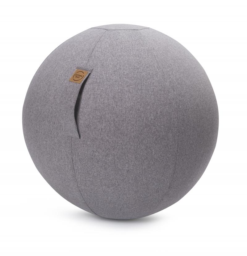 Sitzball - Felt grau