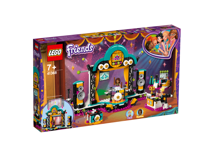 LEGO® FRIENDS 41368 - Andreas Talentshow