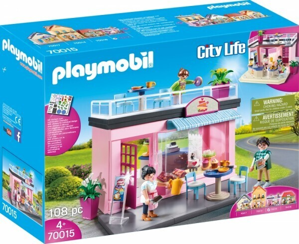 PLAYMOBIL® 70015 Mein Lieblingscafé