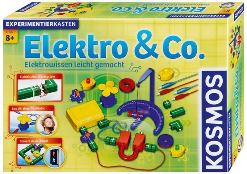 KOSMOS 620417 - Experimentierkasten Elektro & Co. Elektrowissen leicht gemacht