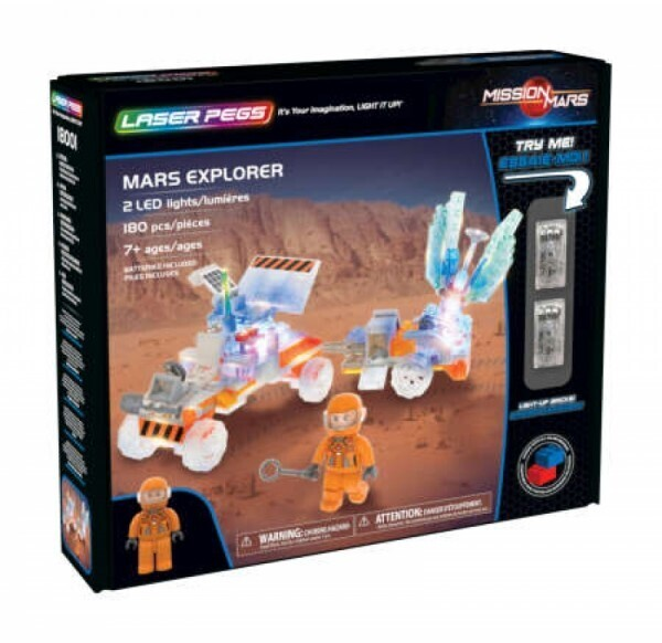 LASER PEGS 18001 - Mars Explorer