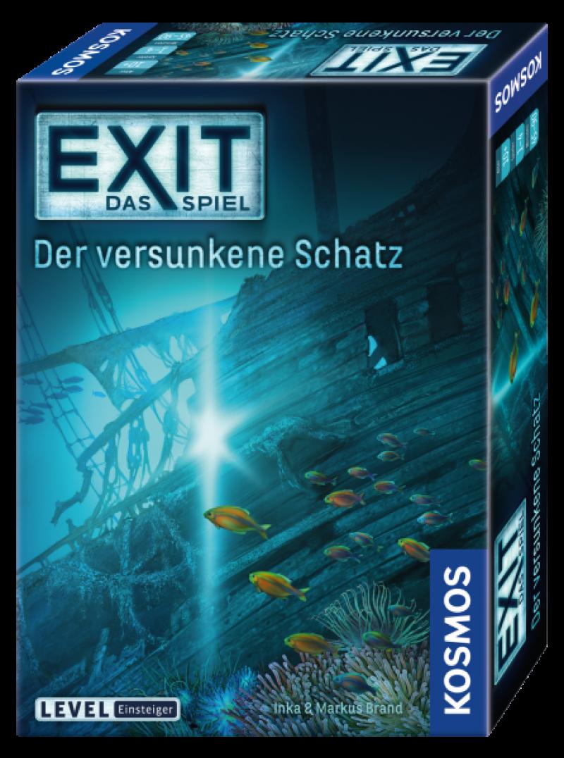 KOSMOS 694050 - EXIT - Das Spiel - Der versunkene Schatz