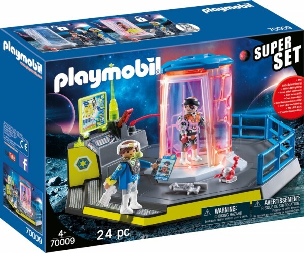 PLAYMOBIL® 70009 SuperSet Galaxy Police Gefängnis