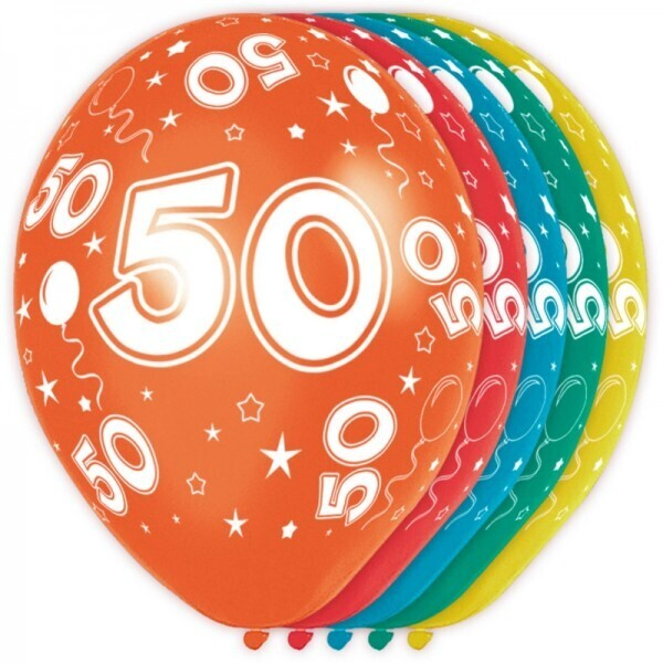 50. Geburtstag Ballons
