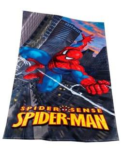 Strandtuch Spiderman Skyline
