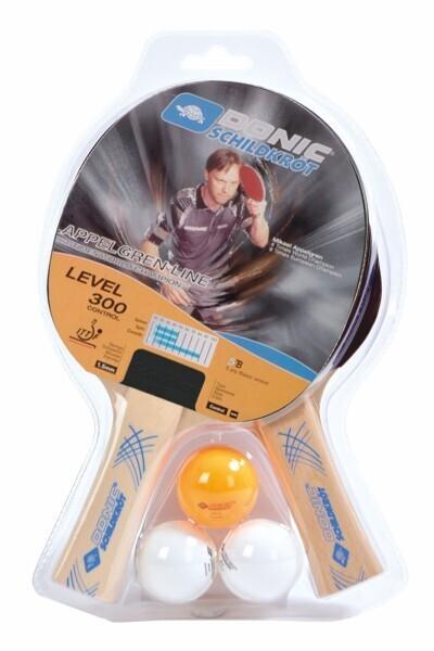 Tischtennis Schlägerset 2-PLAYER Level 300