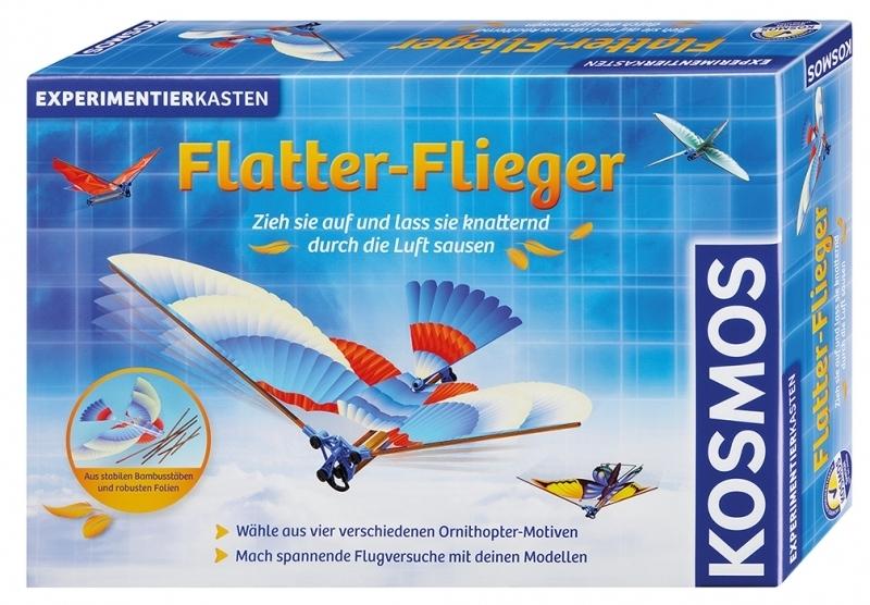 KOSMOS 620431 - Experimentierkasten Flatter-Flieger