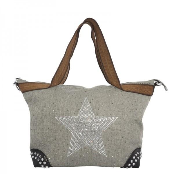 Damenhandtasche Sternenstrasssteine