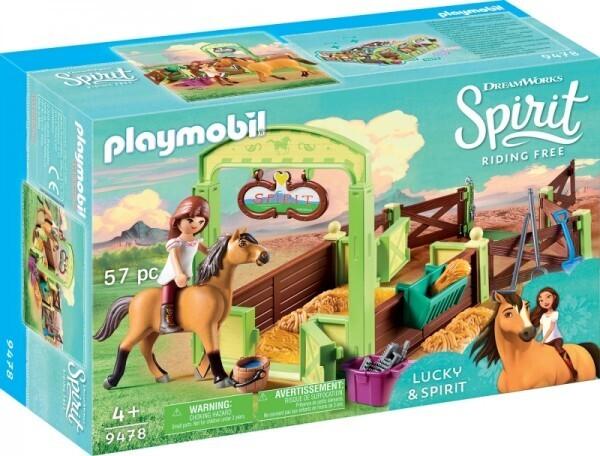 "PLAYMOBIL® 9478 Pferdebox ""Lucky & Spirit"""