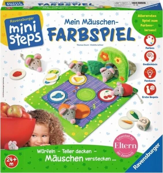Ravensburger mini steps - Mein Mäuschen-Farbspiel